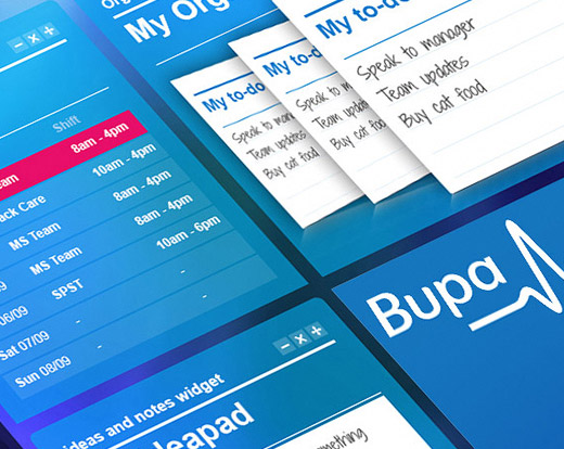 Bupa Advisor UX design and build