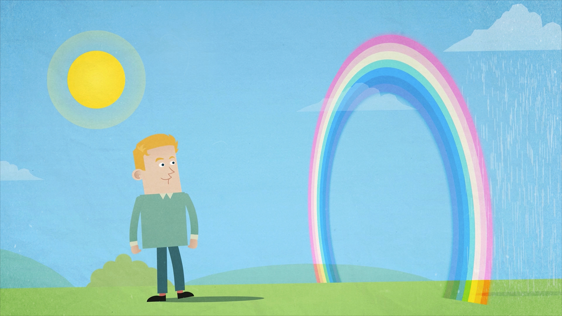 Met Office Educational Animation Rainbows