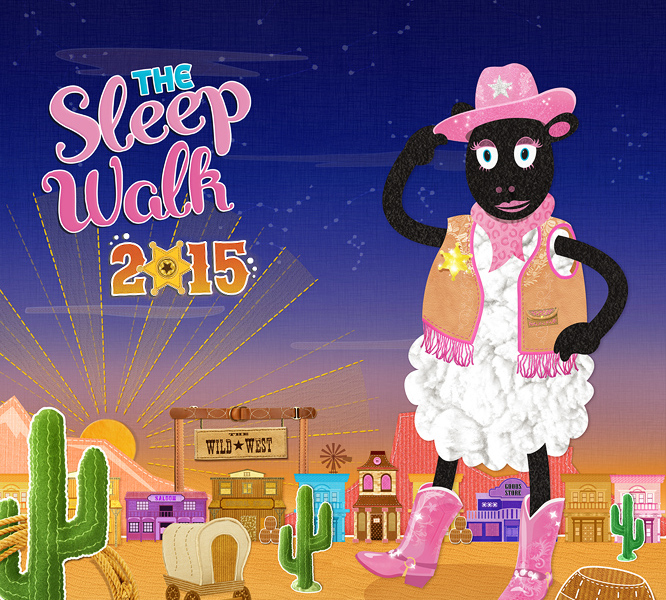 Yee-Haw, the Charity Night Walk is back!