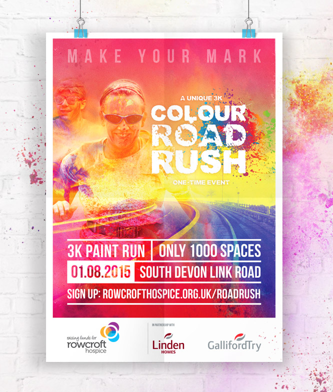 Colour Rush Campaign Branding