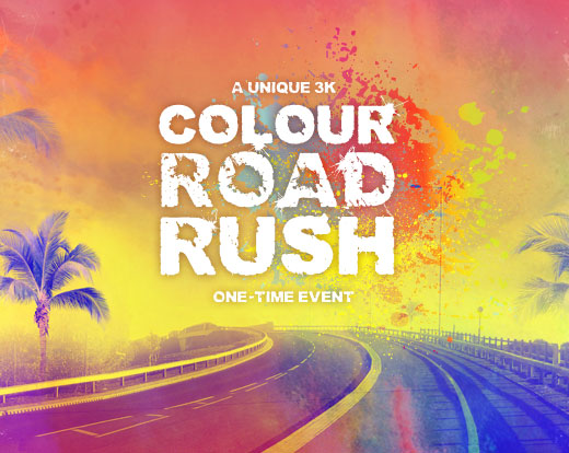 Colour Road Rush Event Promotion
