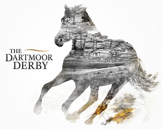 The Dartmoor Derby brand identity