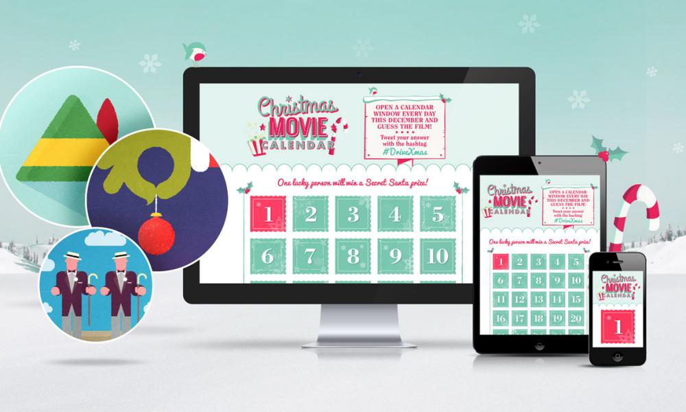 Drive's Christmas Movie Calendar