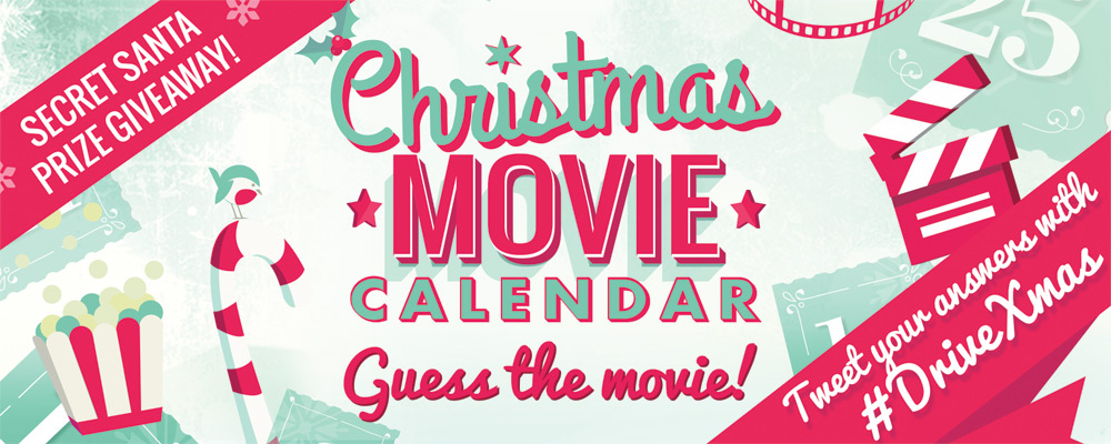 Christmas movie calendar