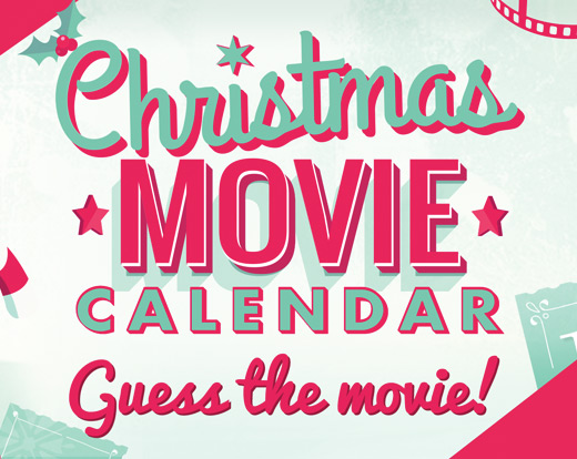 Christmas movie advent calendar web app