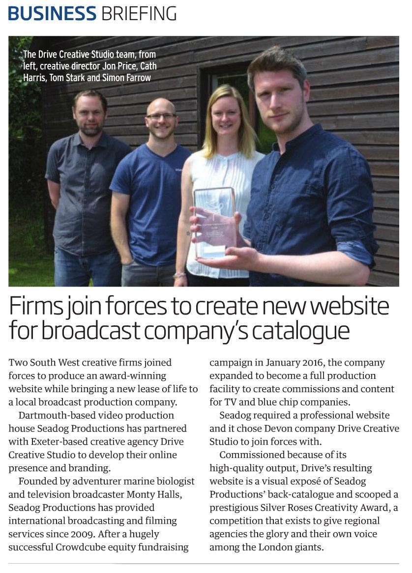 Drive Creative Studio Ltd Devon Life Business & Professional