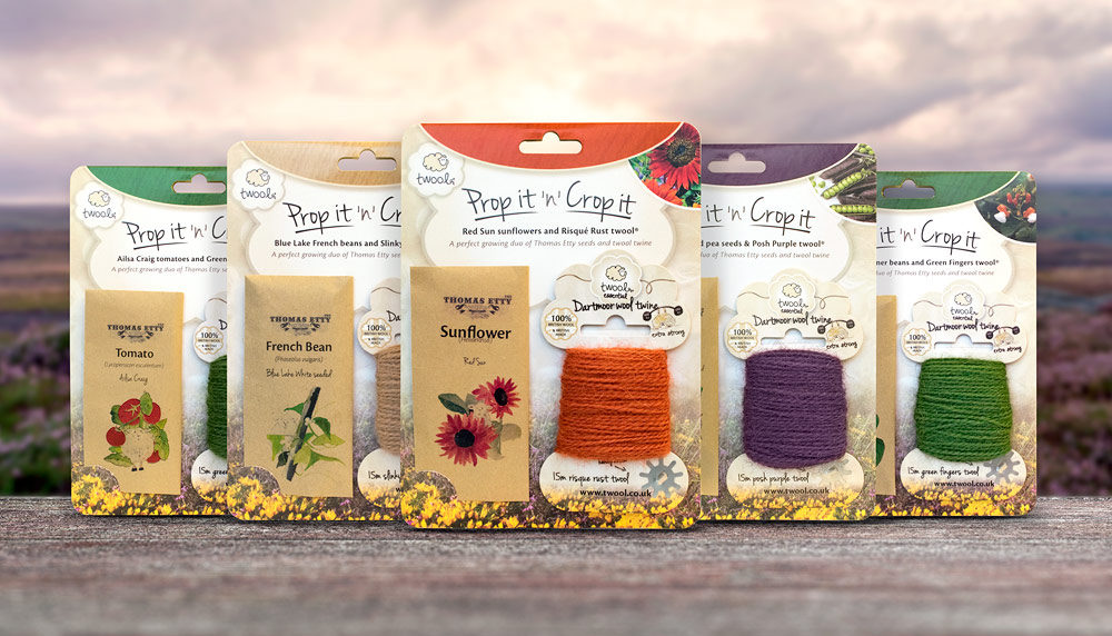 Packaging design development: twool, Prop it n Crop it