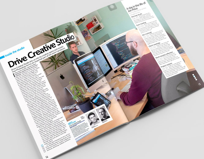 Photoshop Creative Magazine Feature