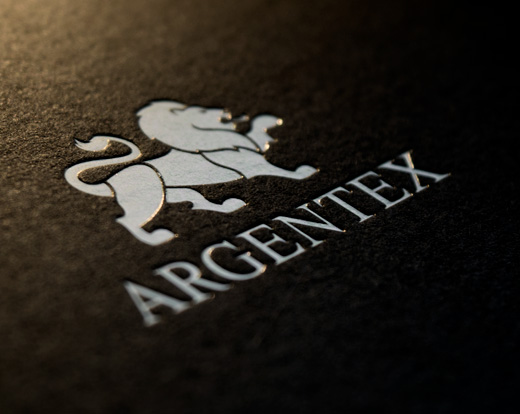 Argentex brand development & print