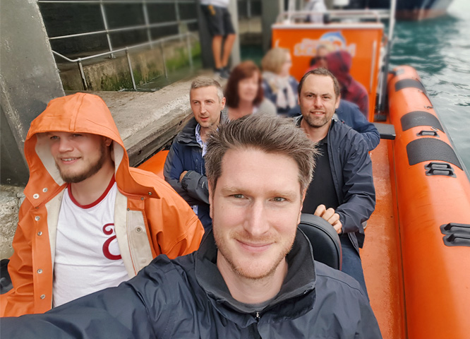 Drive's RIB-riding sea safari