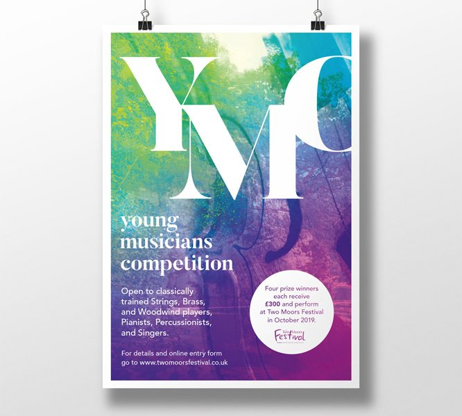 Young Musicians Competition branding