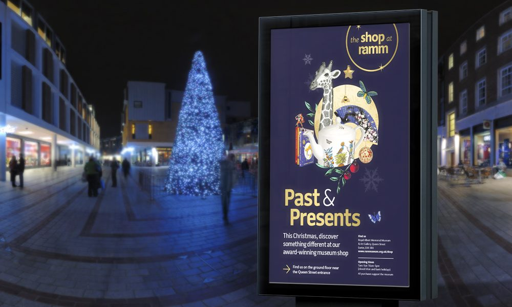 The Shop at RAMM Christmas and New Year campaign