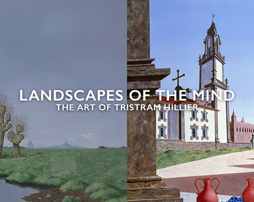 Tristram Hillier – Landscapes of the Mind animation