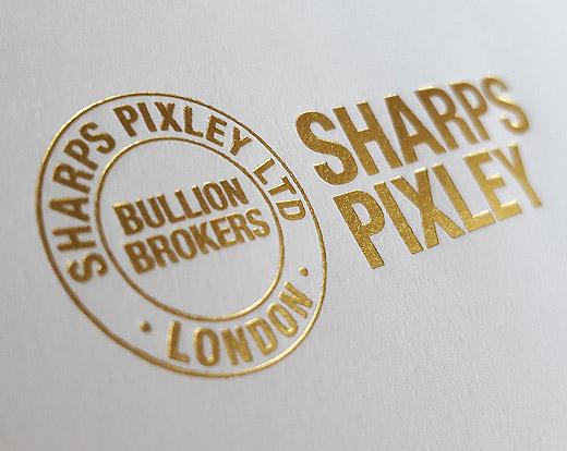 Sharps Pixley Brand and Print design