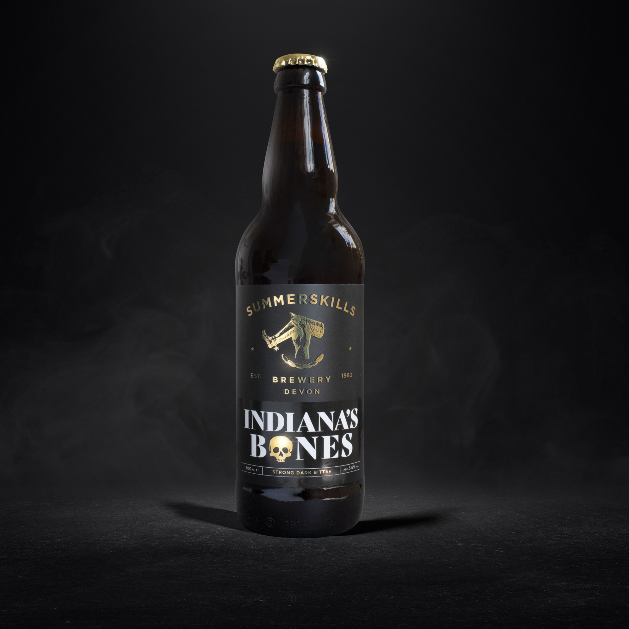 Summerskills Brewery ale packaging by Drive Creative Studio