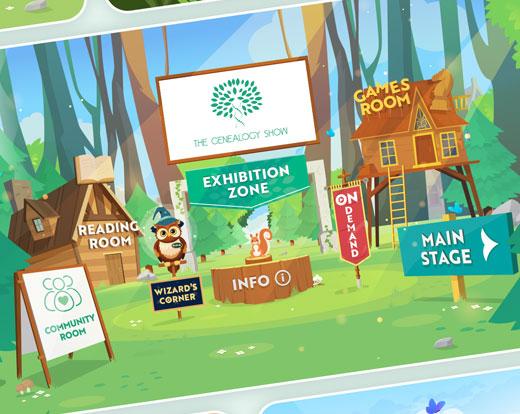 Virtual Event Website design